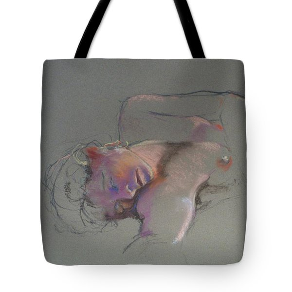 Reclining Study Tote Bag