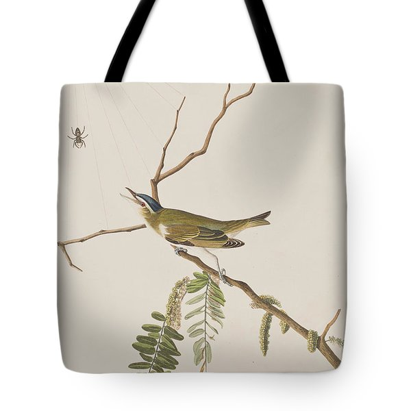 Red Eyed Vireo Tote Bag