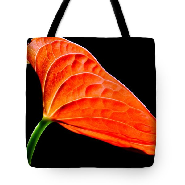 red Lily blossom Tote Bag