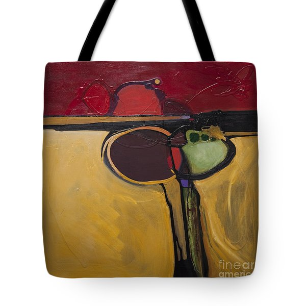 Red Moon Rising Tote Bag