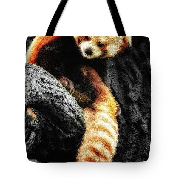Red Panda Tote Bag