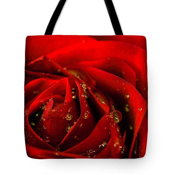 Red Rose 2 Tote Bag