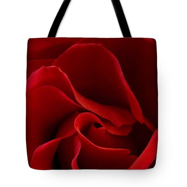 Red Rose Vi Tote Bag