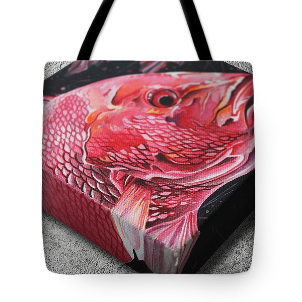 Red Snapper Tote Bag