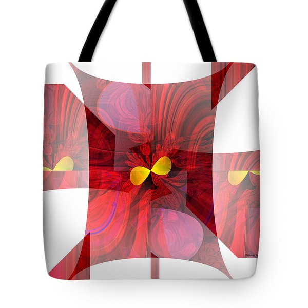 Red Transparency  Tote Bag