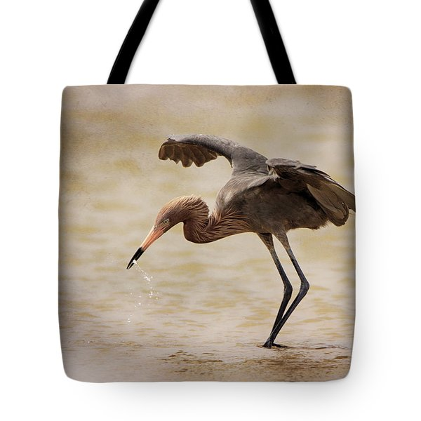 Reddish Egret Tote Bag
