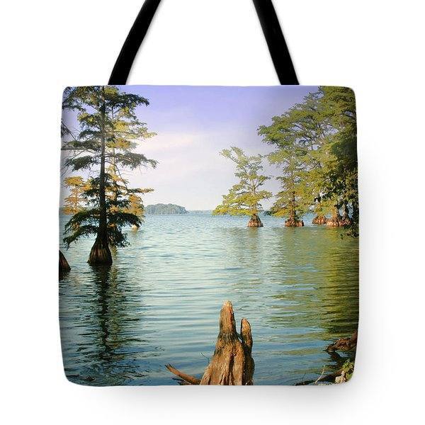Tote Bag featuring the photograph Reelfoot Lake by Bonnie Willis