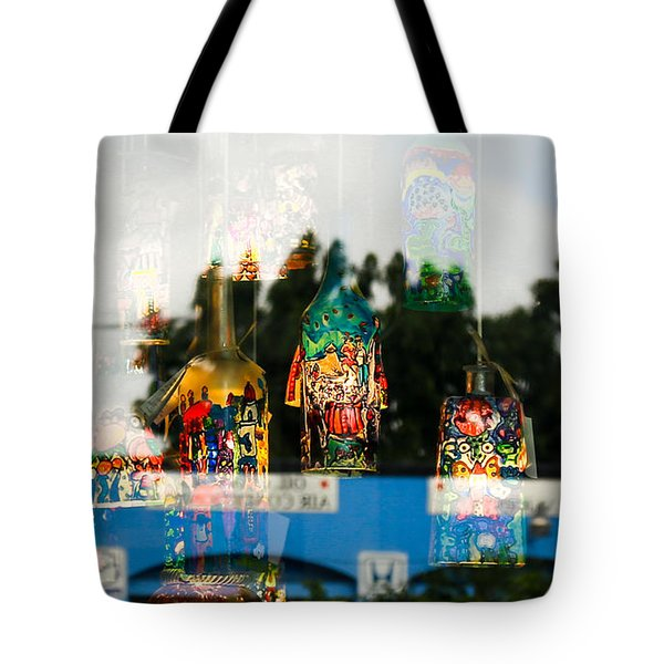Reflection Lights Tote Bag