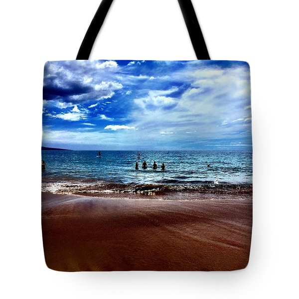 Relax Tote Bag by Michael Albright
