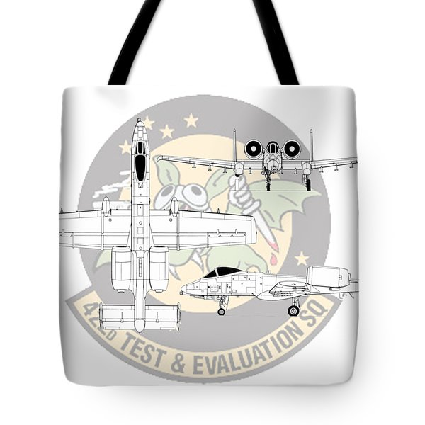 Republic A-10 Thunderbolt II Tote Bag by Arthur Eggers