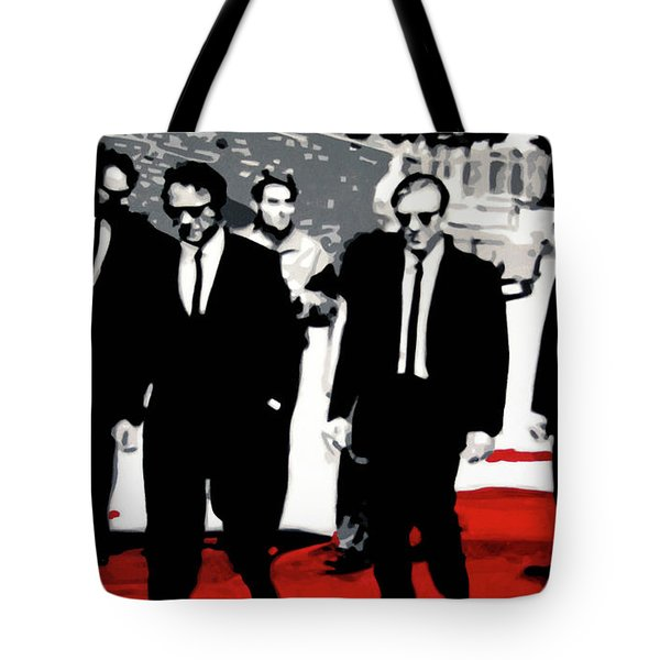 Reservoir Dogs Tote Bag by Luis Ludzska