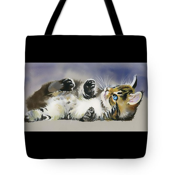 Resting In The Lord Tote Bag by Karen Showell
