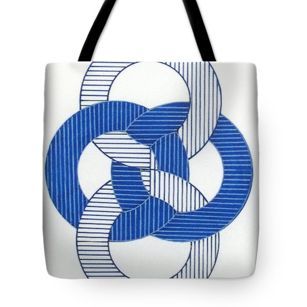 Tote Bag featuring the drawing Rfb1009 by Robert F Battles
