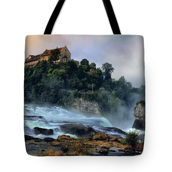 Rhinefalls, Switzerland Tote Bag by Elenarts - Elena Duvernay photo