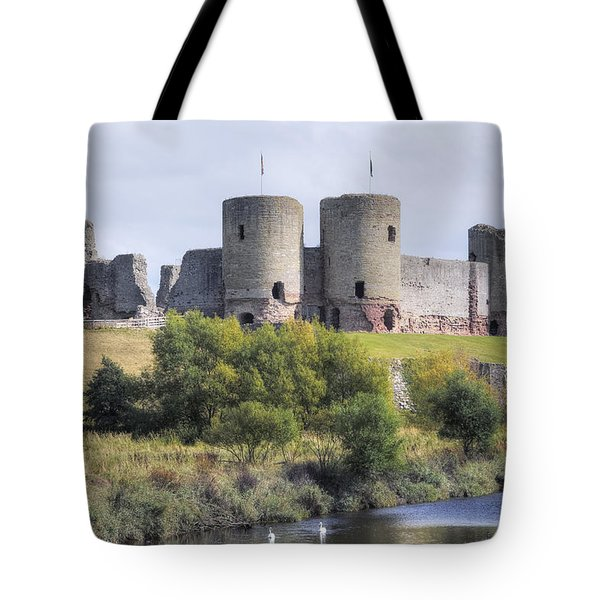 Rhuddlan Castle - Wales Tote Bag