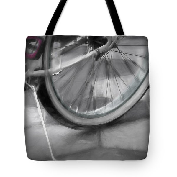 Ride With Me Tote Bag by Carolyn Marshall