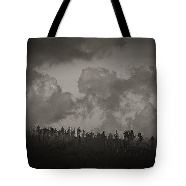 Tote Bag featuring the photograph Ridgeline by Tim Nichols