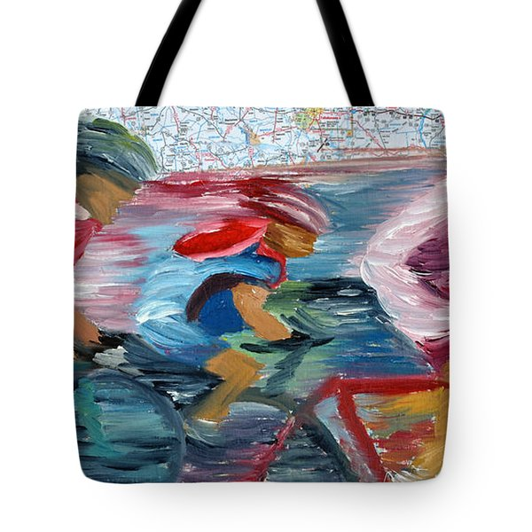 Riding The Roads Tote Bag by Michael Lee