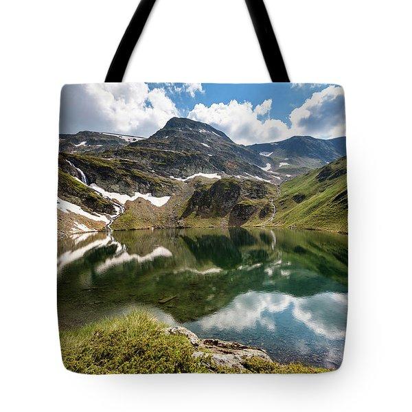 Rila Mountain Tote Bag by Evgeni Dinev