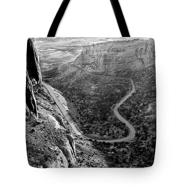 Rim Rock Drive Tote Bag