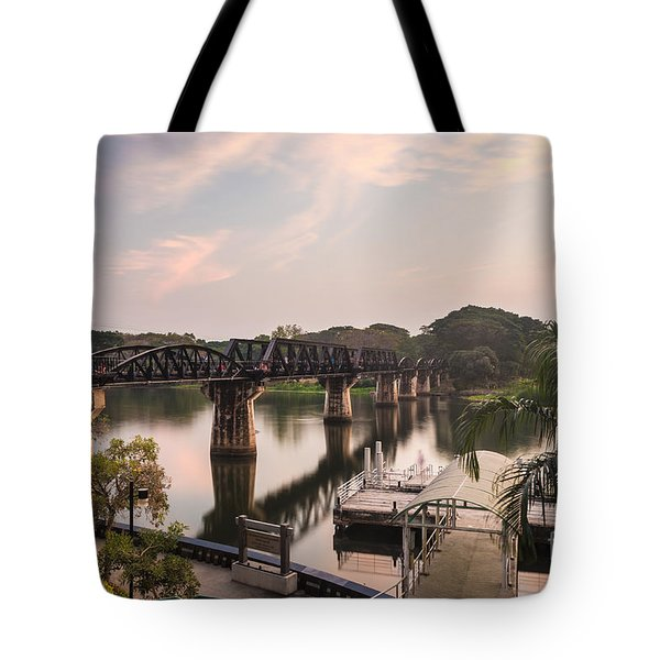 River Kwai Bridge Tote Bag