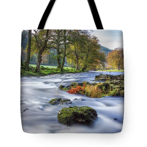 River Llugwy Tote Bag by Ian Mitchell