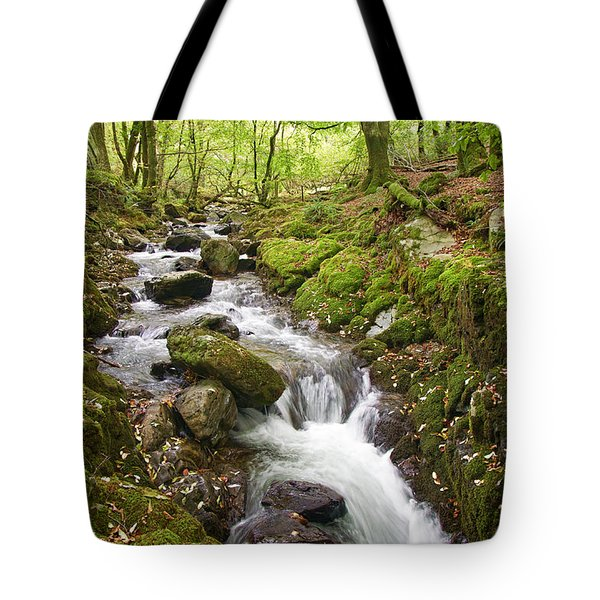 River Lyd On Dartmoor Tote Bag