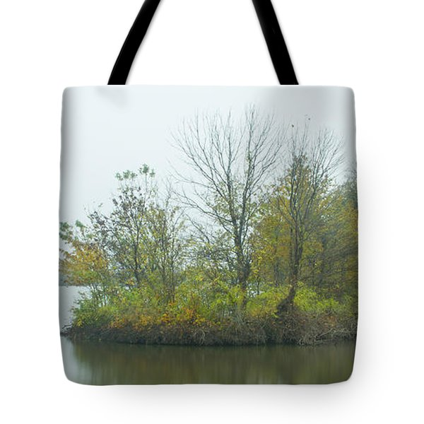 Riverlands On The Mississippi River Tote Bag by Garry McMichael