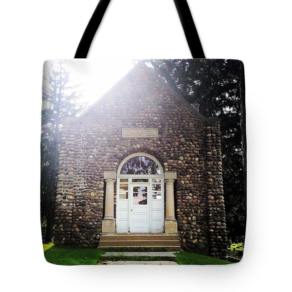 Riverside Cemetery Chapel Tote Bag