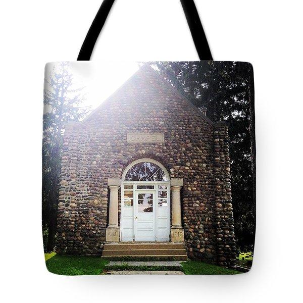 Riverside Cemetery Chapel Tote Bag