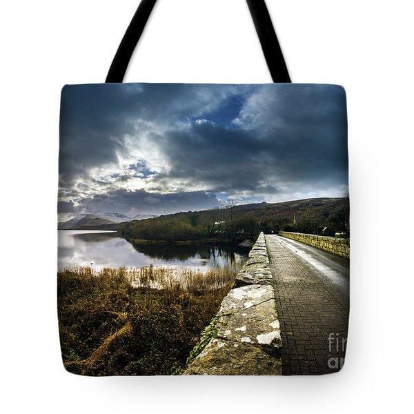 Road To Snowdon Tote Bag