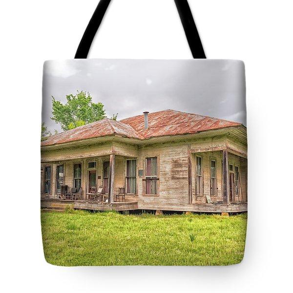 Arkansas Roadside House Tote Bag