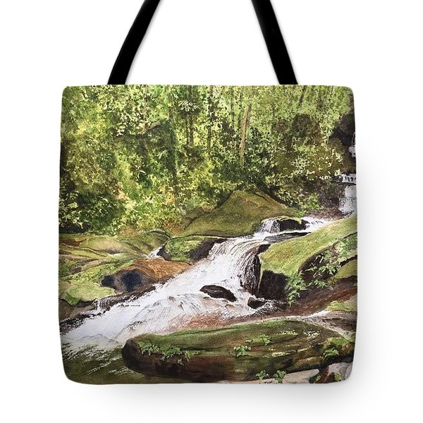 Roaring Fork Falls -- June 2017 Tote Bag