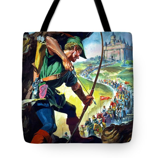 Robin Hood Tote Bag by James Edwin McConnell
