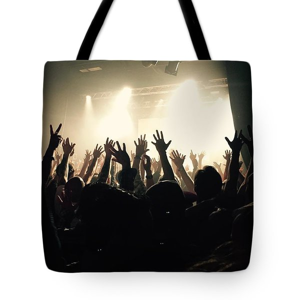 Rock And Roll Tote Bag by Andre Brands