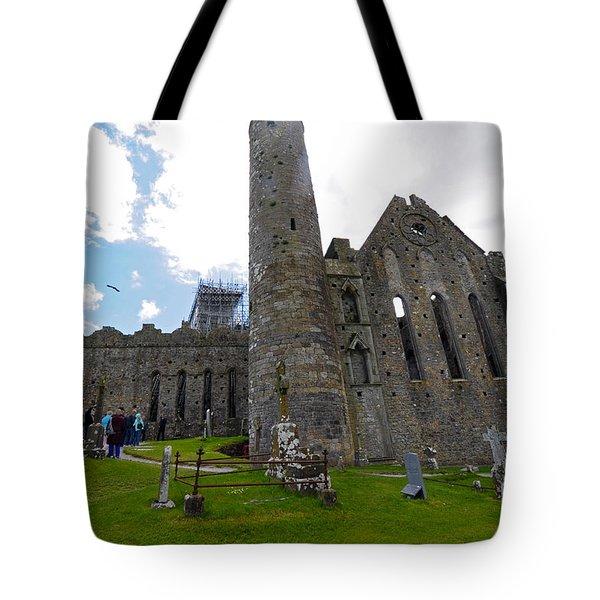 Rock Of Cashel Tote Bag