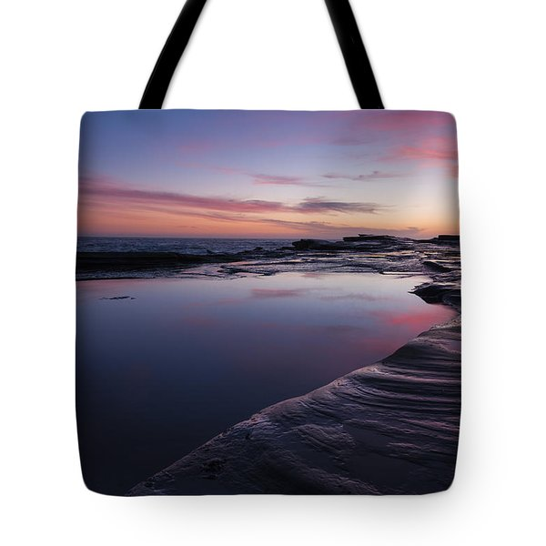 Rock Shelf Tote Bag
