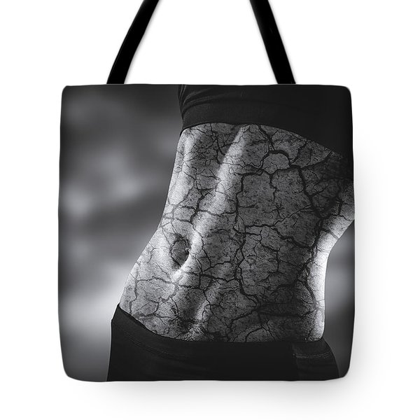 Rock Solid Abs Tote Bag