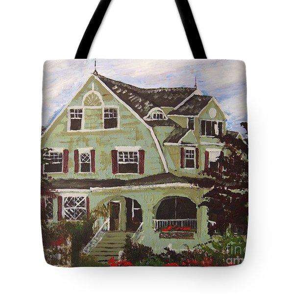Rockmere Lodge Tote Bag