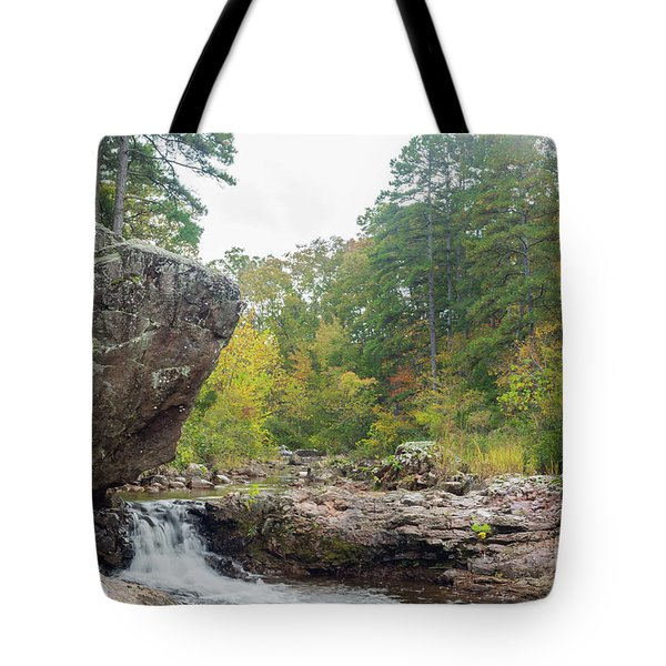 Tote Bag featuring the photograph Rocky Creek Shut-ins by Julie Clements