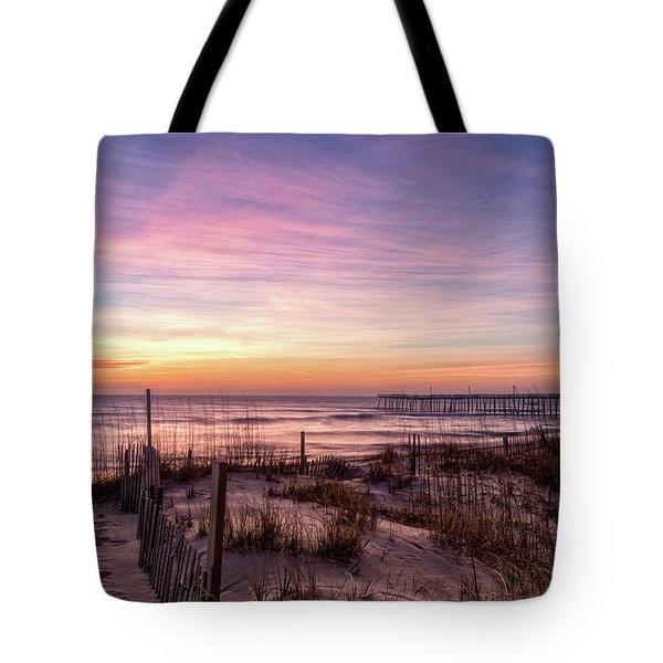 Rodanthe Sunrise Tote Bag
