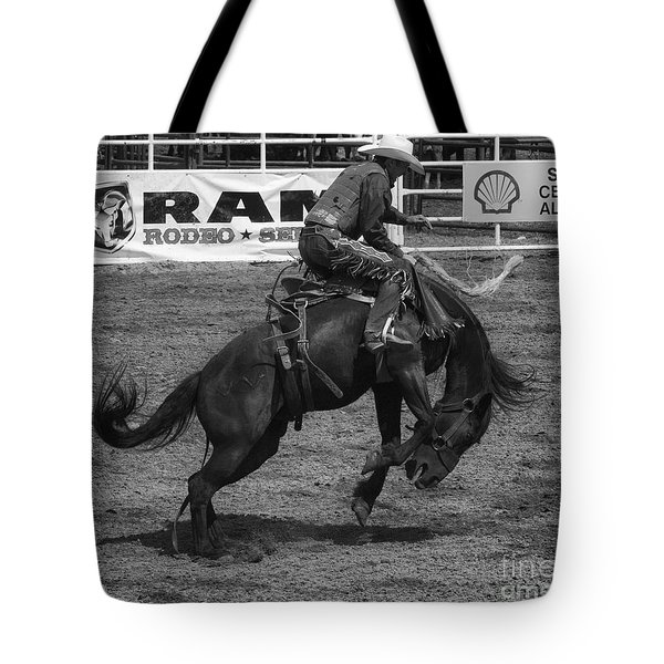 Rodeo Saddleback Riding 5 Tote Bag