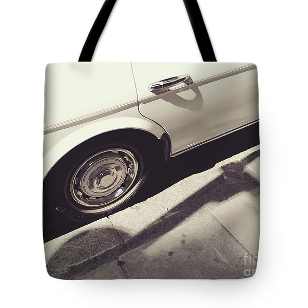 Tote Bag featuring the photograph Rolls Royce Baby by Rebecca Harman