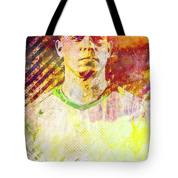 Ronaldo Tote Bag by Svelby Art