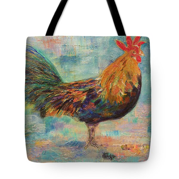 Regal Rooster Tote Bag