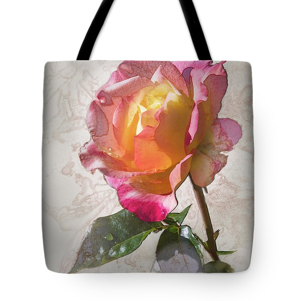 Rosa, 'glowing Peace' Tote Bag