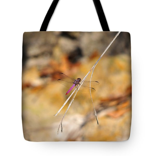 Tote Bag featuring the photograph Fuchsia Fly by Al Powell Photography USA