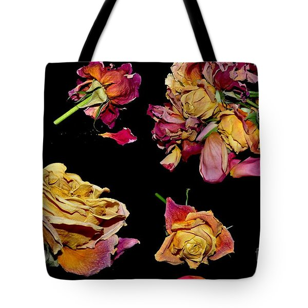 Roses Tote Bag by Sylvie Leandre