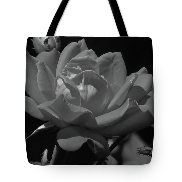 Rosey Bloom Tote Bag