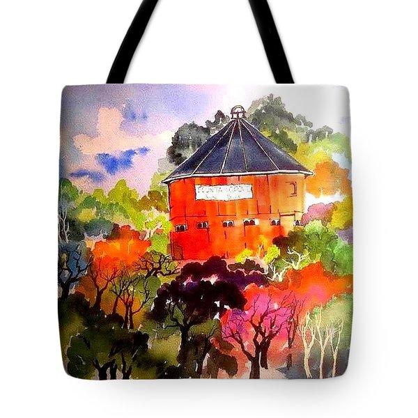 Round Barn ,santa Rosa Tote Bag